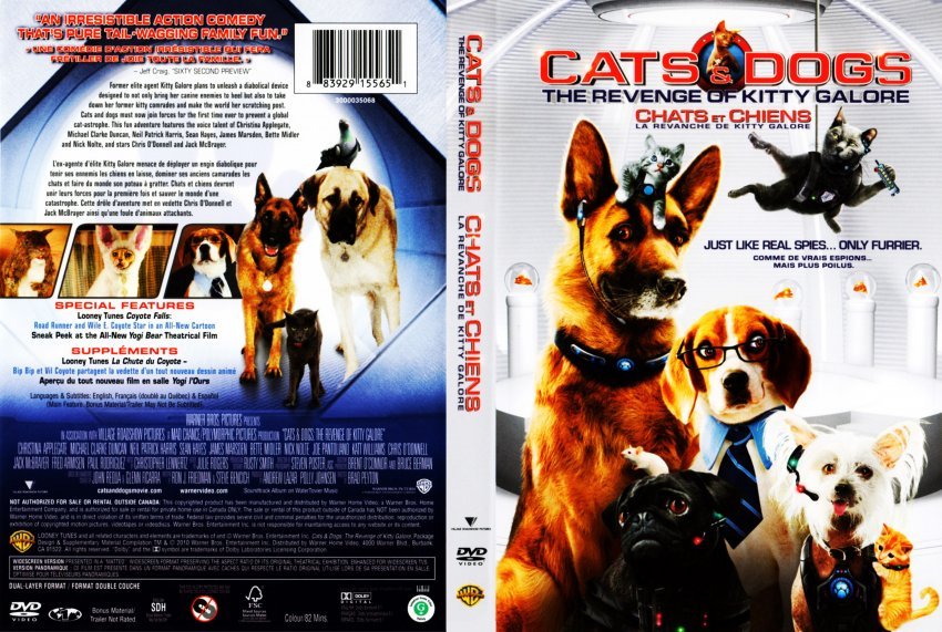 Cats And Dogs  Full Movie Watch Online