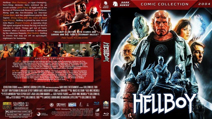 Amazoncom Hellboy Directors Cut Bluray Ron
