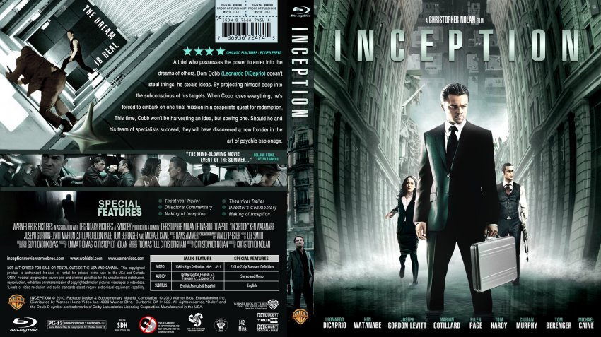 Inception movie poster citation information