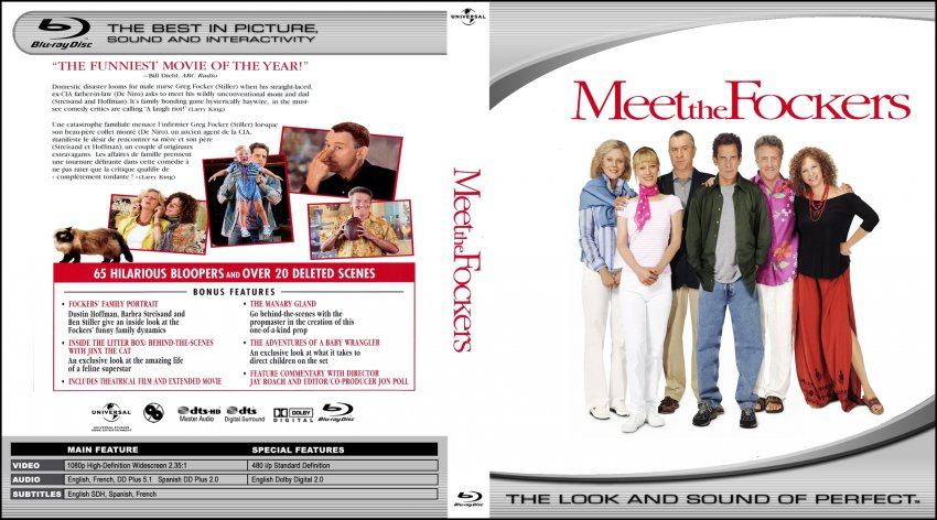 Meet The Fockers - Movie Blu-Ray Custom Covers - meet the ...