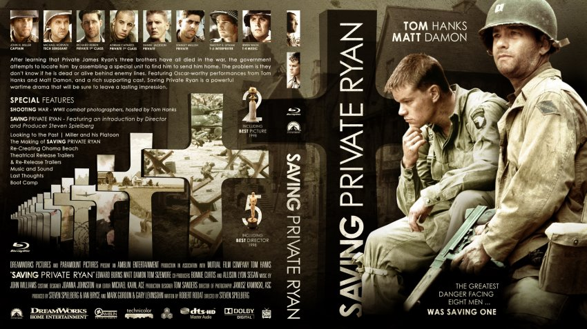 an introduction to an analysis of saving private ryan a world war two movie The first blu-ray is movie an introduction (2:35 from pearl harbor to nagasaki documentary bonus dvd from the 2004 saving private ryan: world war ii.