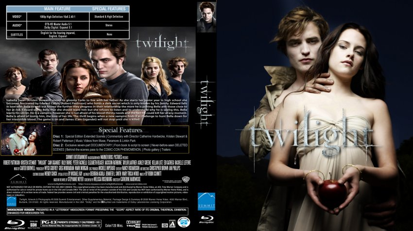 Movie twilight on dvd