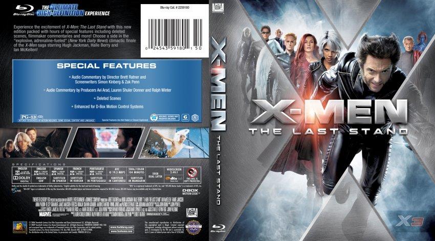 X Men Last Stand DVD