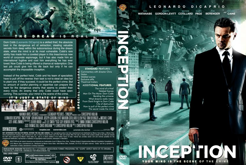 Inception YIFY subtitles  details