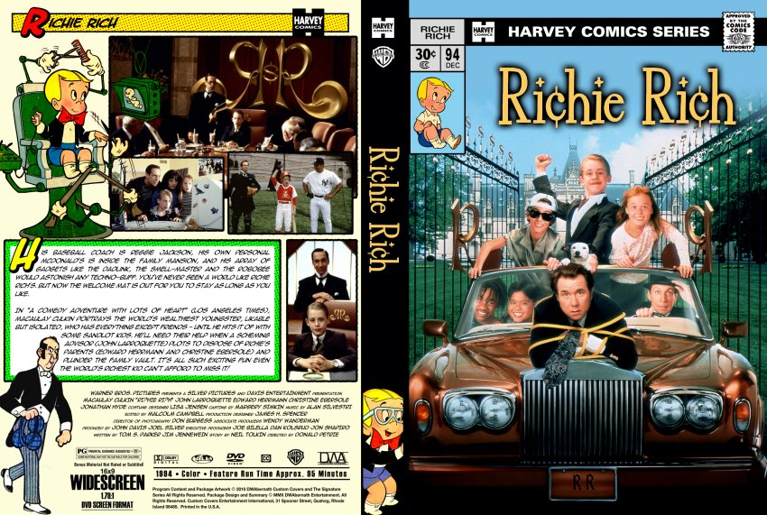Richie Rich Movie Richie Rich - Movie DV...