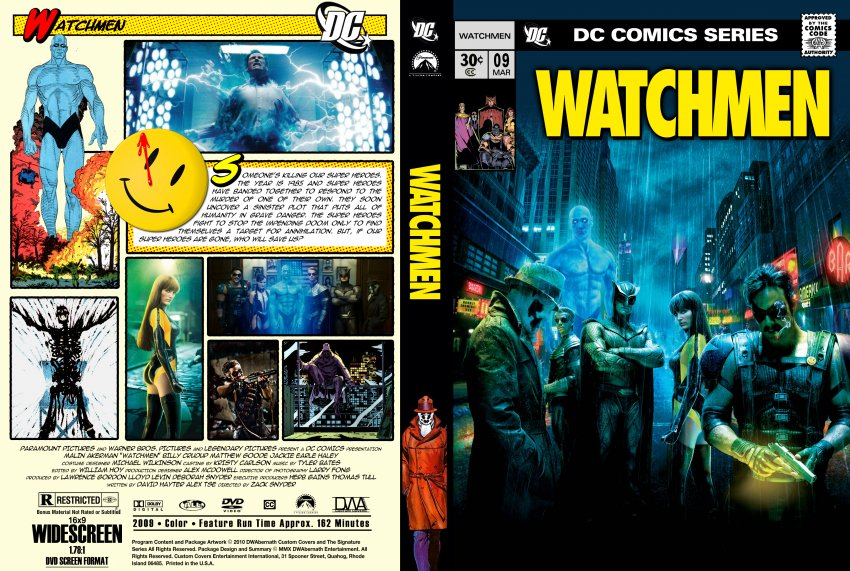 Watchmen - Movie DVD Custom Covers - Watchmen7 :: DVD Covers