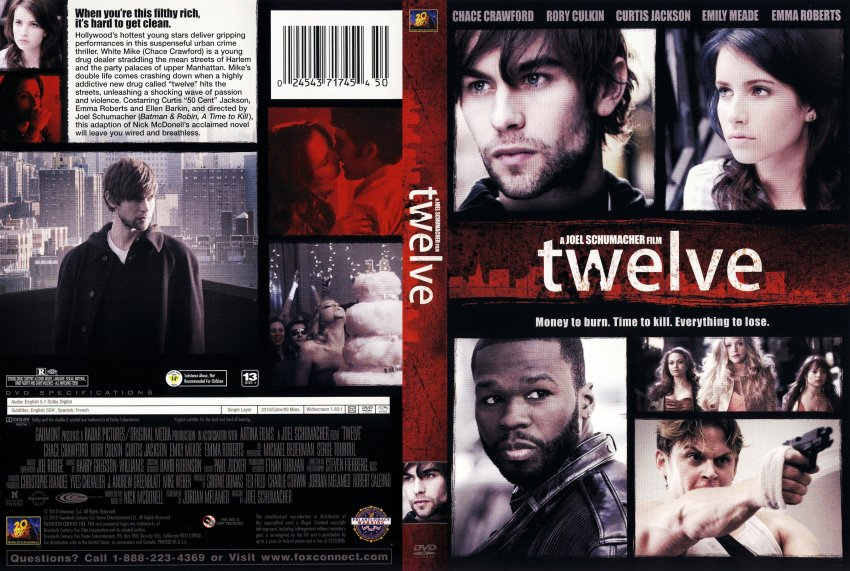 Twelve - Movie DVD Scanned Covers - Twelve - English f ...
