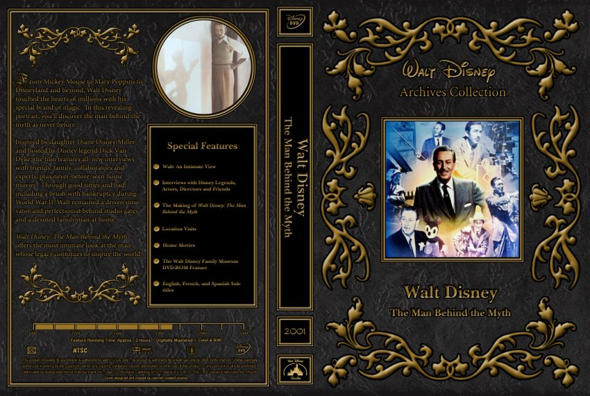 the myhs of walt disney