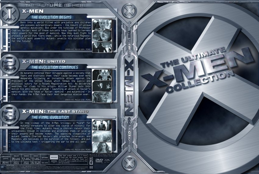 X Men Dvd Cover: X-Men Collections From W3 By Trivto On DeviantArt