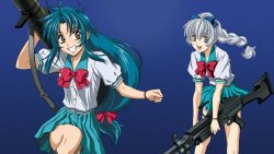 Full Metal Panic Fumoffu - Tv Series HTPC Background