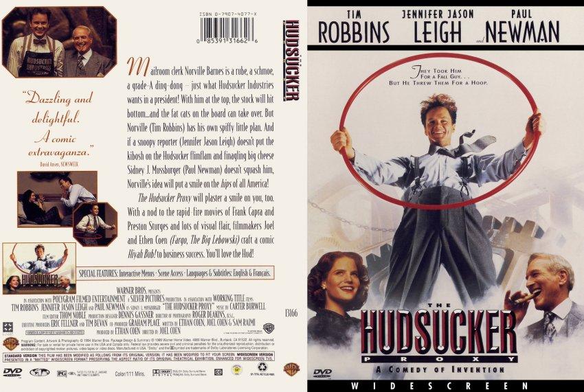 The Hudsucker Proxy DVD-Cover