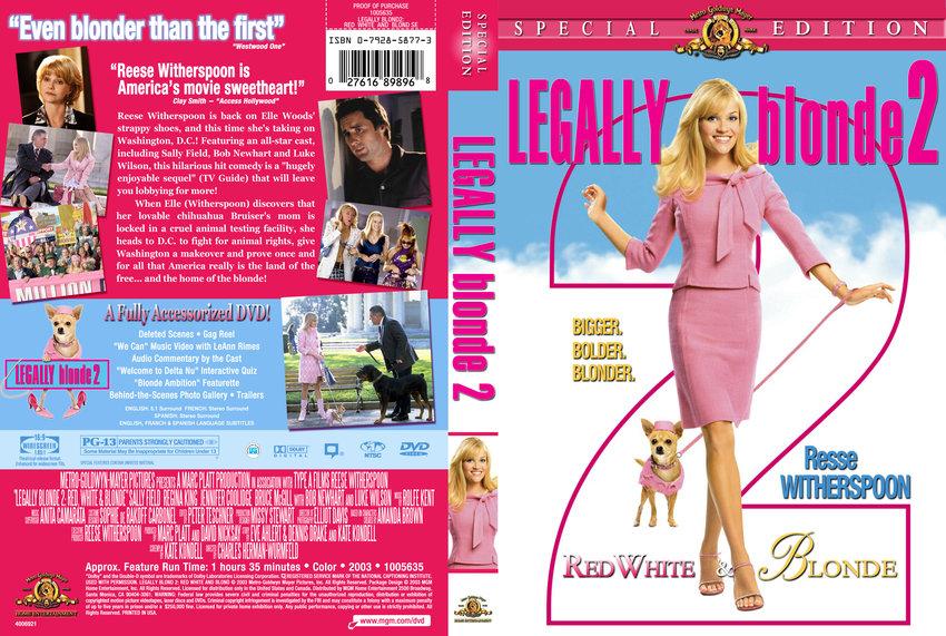 legally blonde 2 movie dvd custom covers 211lb2rwb dvd cover cstm bukken dvd covers. Black Bedroom Furniture Sets. Home Design Ideas
