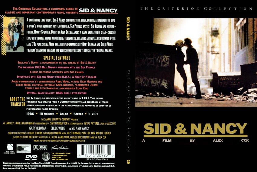 sid and nancy by alex cox essay