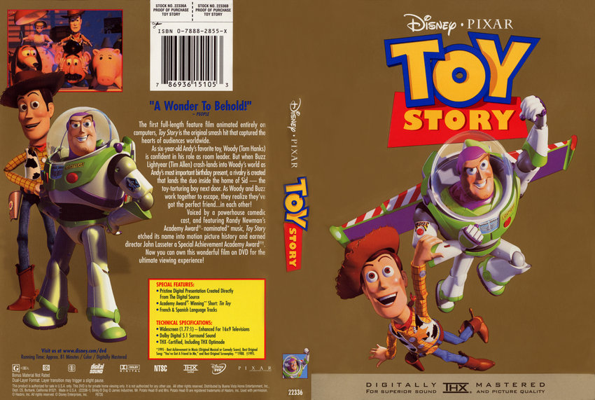Toy Story 2000 Gold Classic Collection Dvd | www.imgkid ...
