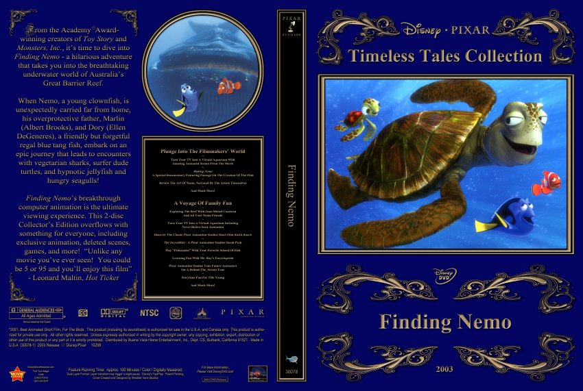 Finding Nemo3 - Movie DVD Custom Covers - Finding Nemo3 ...