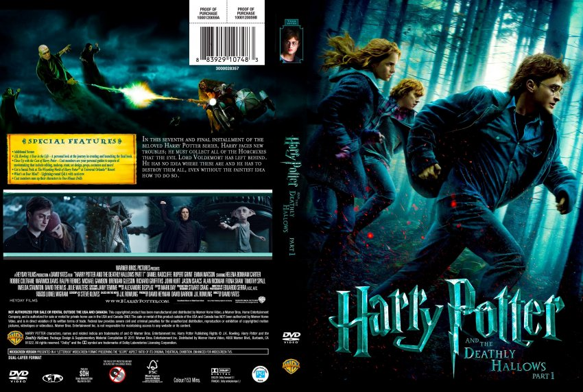Harry Potter and the Deathly Hallows: Part 1 Telugu