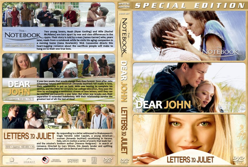 letters to juliet dvd cover Watch letters to juliet (2010) online actors an american girl on vacation in italy finds an unanswered letter to juliet -- one of thousands of missives left at the fictional lover's verona courtyard, which are typically answered by the secretaries of juliet -- and she goes on a quest to.