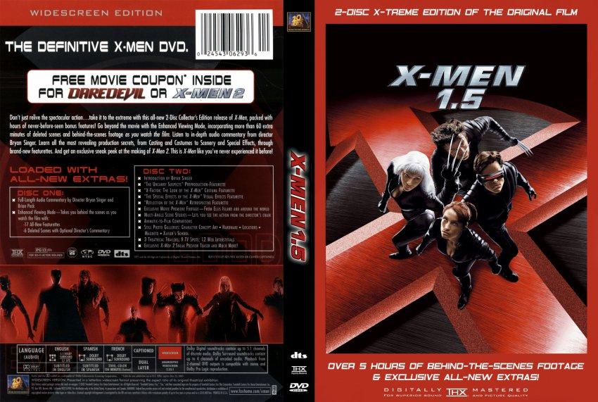 xmen 15 movie dvd custom covers 211xmen15 cstm5