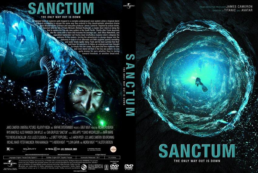 Sanctum - Movie DVD Custom Covers - Sanctum2 :: DVD Covers