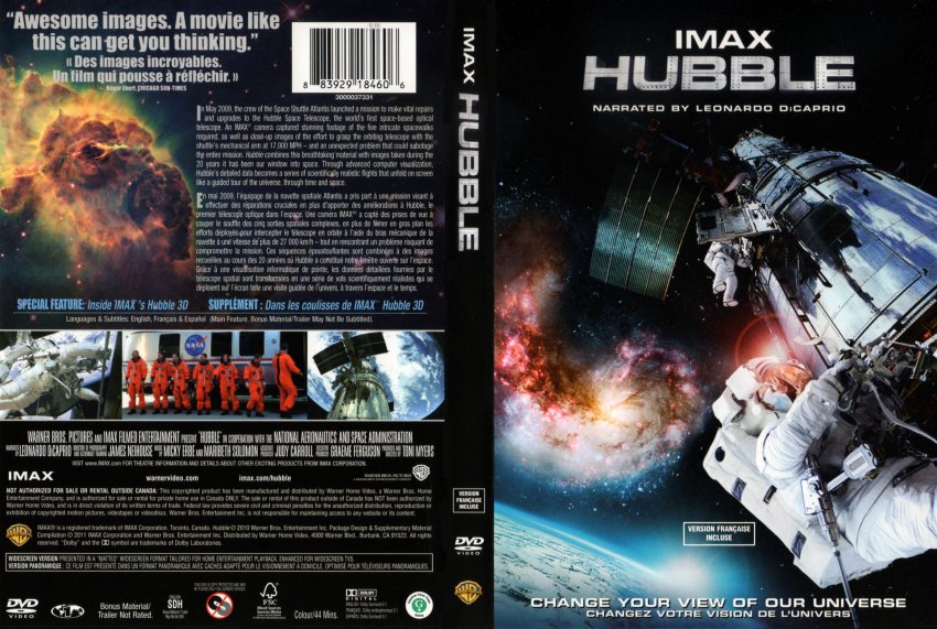 IMAX - Hubble R1 - Movie DVD Scanned Covers - IMAX ...