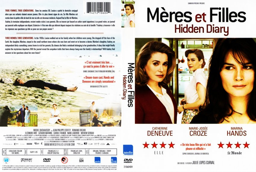 Meres Et Filles - Movie DVD Scanned Covers - Meres Et Filles - French :: DVD  Covers