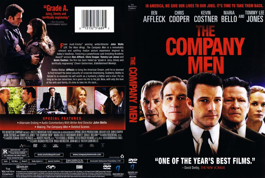 the company men   movie dvd scanned covers