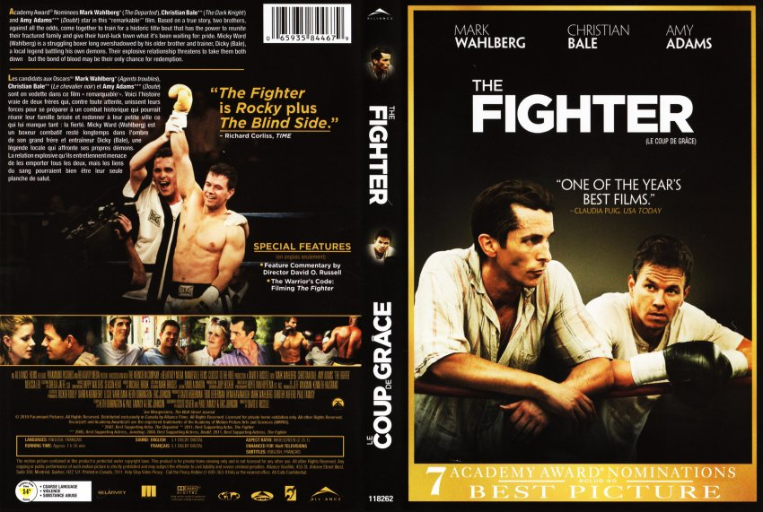 The Fighter - Coup De Grace - Movie DVD Scanned Covers ...