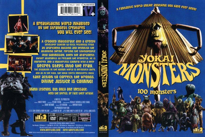 Yokai Monsters 100 Monsters Movie HD free download 720p
