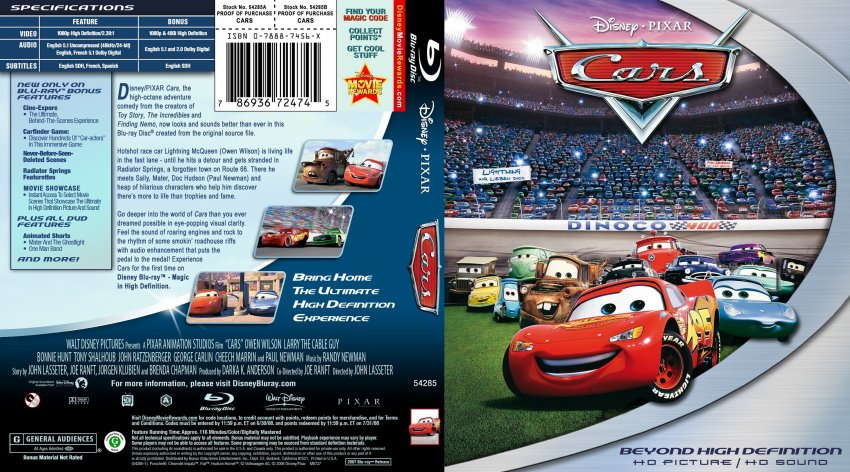 cars 1 dvd cover cover dudes. Black Bedroom Furniture Sets. Home Design Ideas