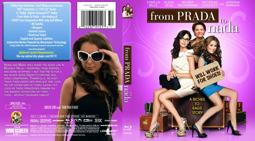 From Prada to NADA DVD-Cover