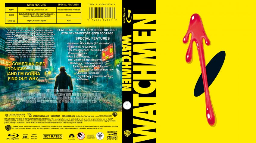 Watchmen - Movie Blu-R...