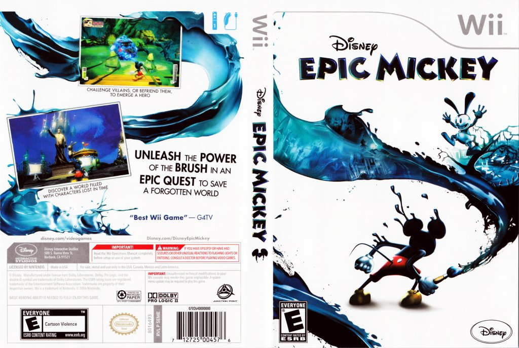 epic mickey iso