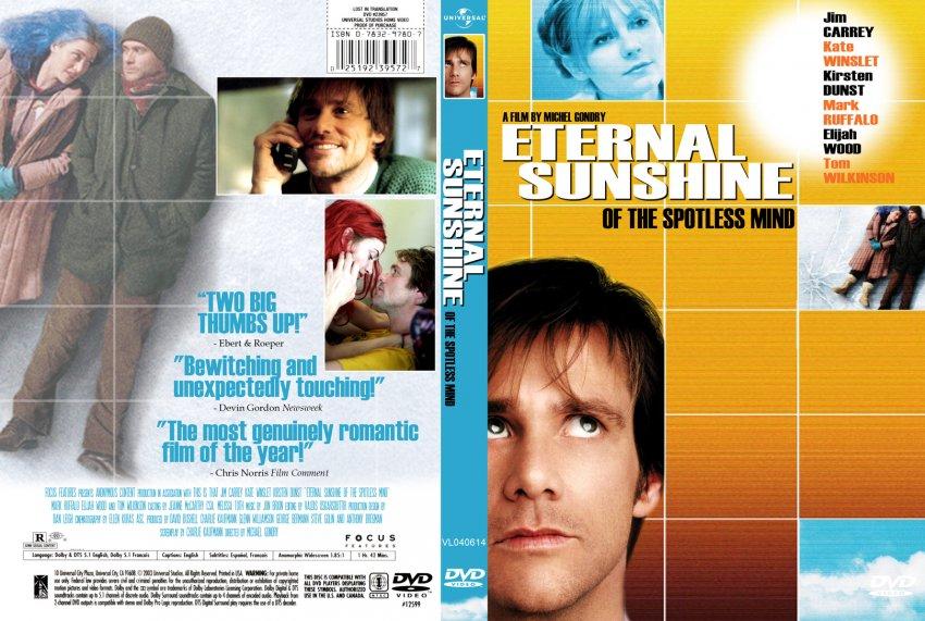 Eternal Sunshine - Of The Spotless Mind - Movie DVD Custom ...