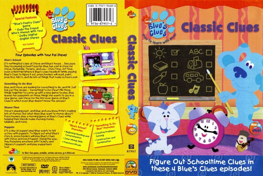 theories on blue s clues Play blues clues quizzes on sporcle, the world's largest quiz community there's a blues clues quiz for everyone.