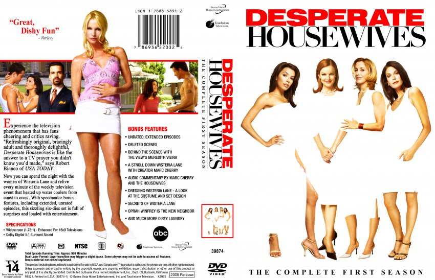 desperate housewives season 1 tv dvd scanned covers desperate housewives season 1 dvd covers. Black Bedroom Furniture Sets. Home Design Ideas
