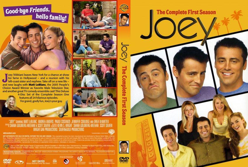 Joey Season 1 - TV DVD Scanned Covers - Joey Season 1