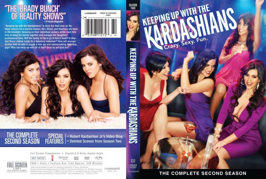 Keeping up with the kardashians season 2 tv dvd scanned for 1st season of keeping up with the kardashians
