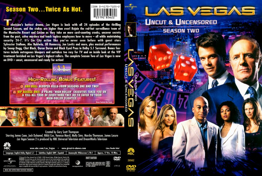 Las Vegas DVD Cover