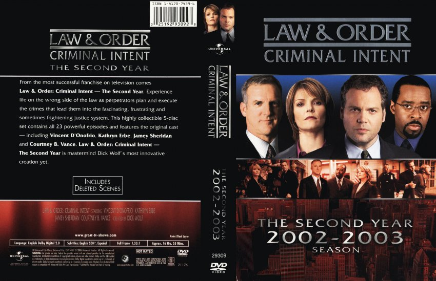 law and order anti thesis