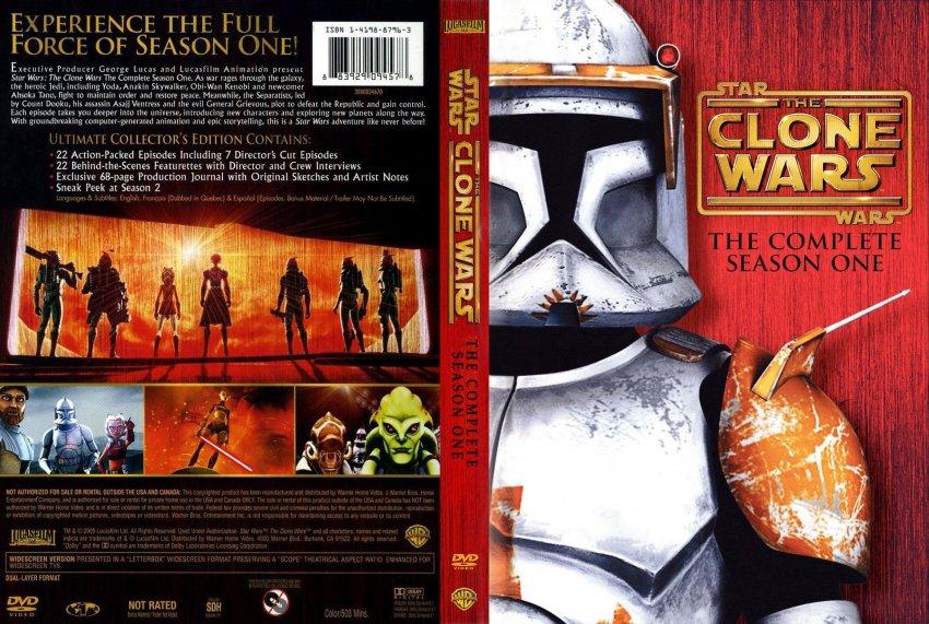Star Wars The Clone Wars Dvd Cover Star Wars The Clone Wars