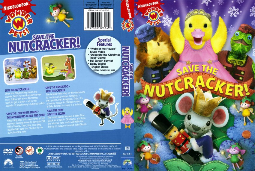 Amazon.com: Wonder Pets!: Save the Nutcracker: Sofie ...