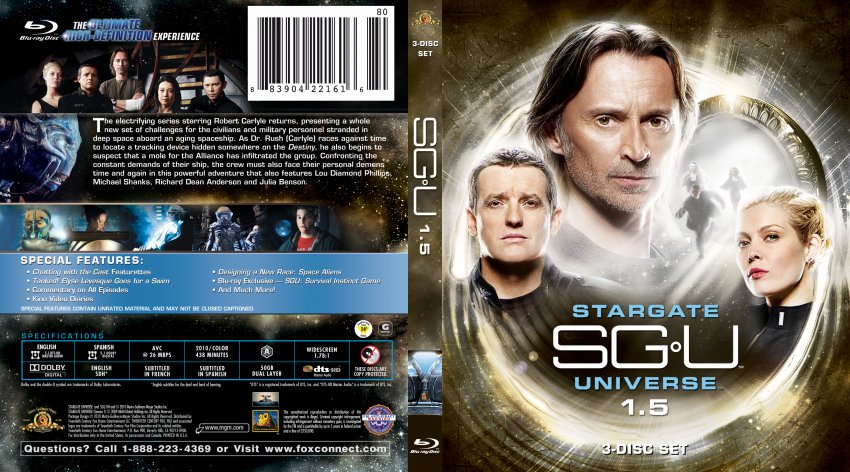 Stargate Univers Season 1.5