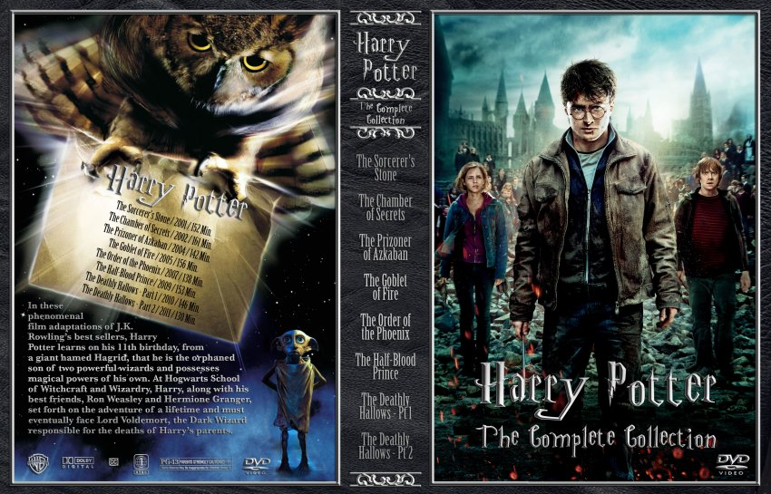 Harry Potter 1-7 complete set hardcover books with jackets