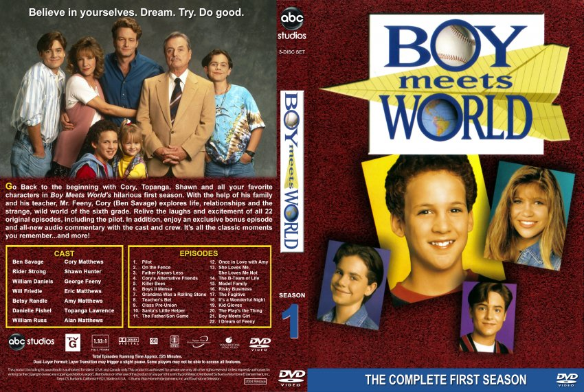 watch boy meets world online free season 1 Watch boy meets world season 1 episode 1 (s01e01) online free (no sign up) only at tvzion, largest online tv episode database updated everyday.