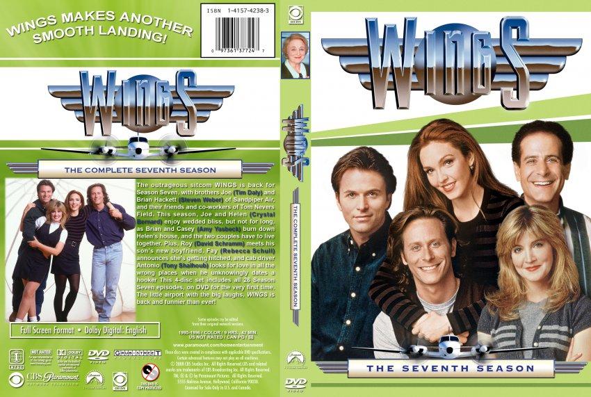 WINGS: Season 7 - TV DVD Custom Covers - Wings-S7 :: DVD Covers: www.dvd-covers.org/art/DVD_Covers/TV_DVD_Custom_Covers/Wings-S7.jpg...