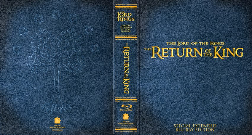 Return of the king extended edition dvd.