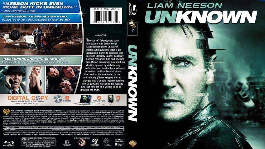 Unknown - Movie Blu-Ray Custom Covers - Unknown Custom Blu ... Liam Neeson