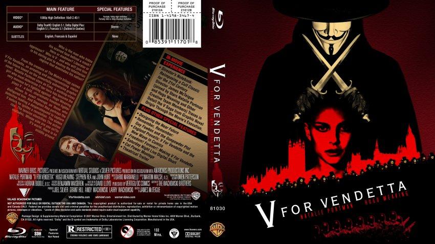 V for Vendetta (2005) Full Movie Watch Online Free