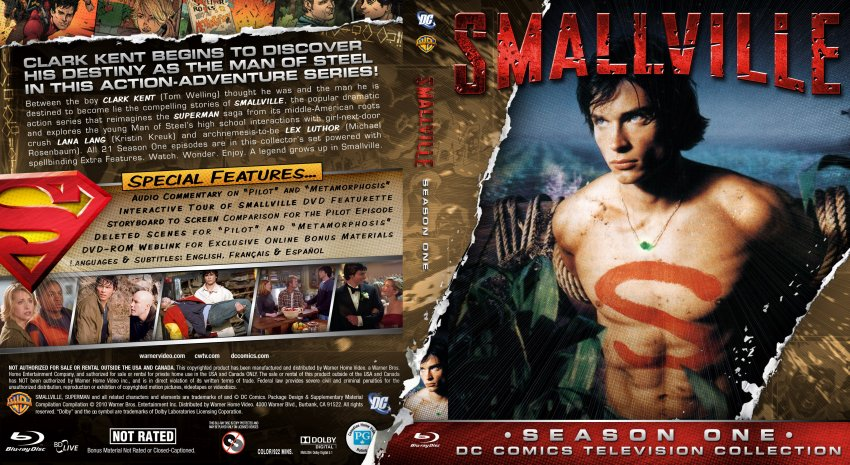 Smallville - Season 1 - Custom -Bluray f