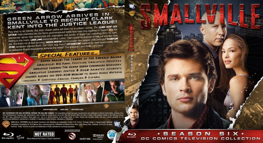 Smallville Season 6 - Custom - Bluray